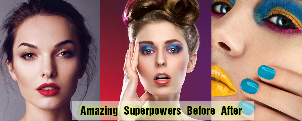 Amazing Superpowers Before After|Online Photo Retouching