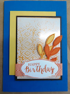 Wax resist card zena kennedy independent stampin up demonstrator,