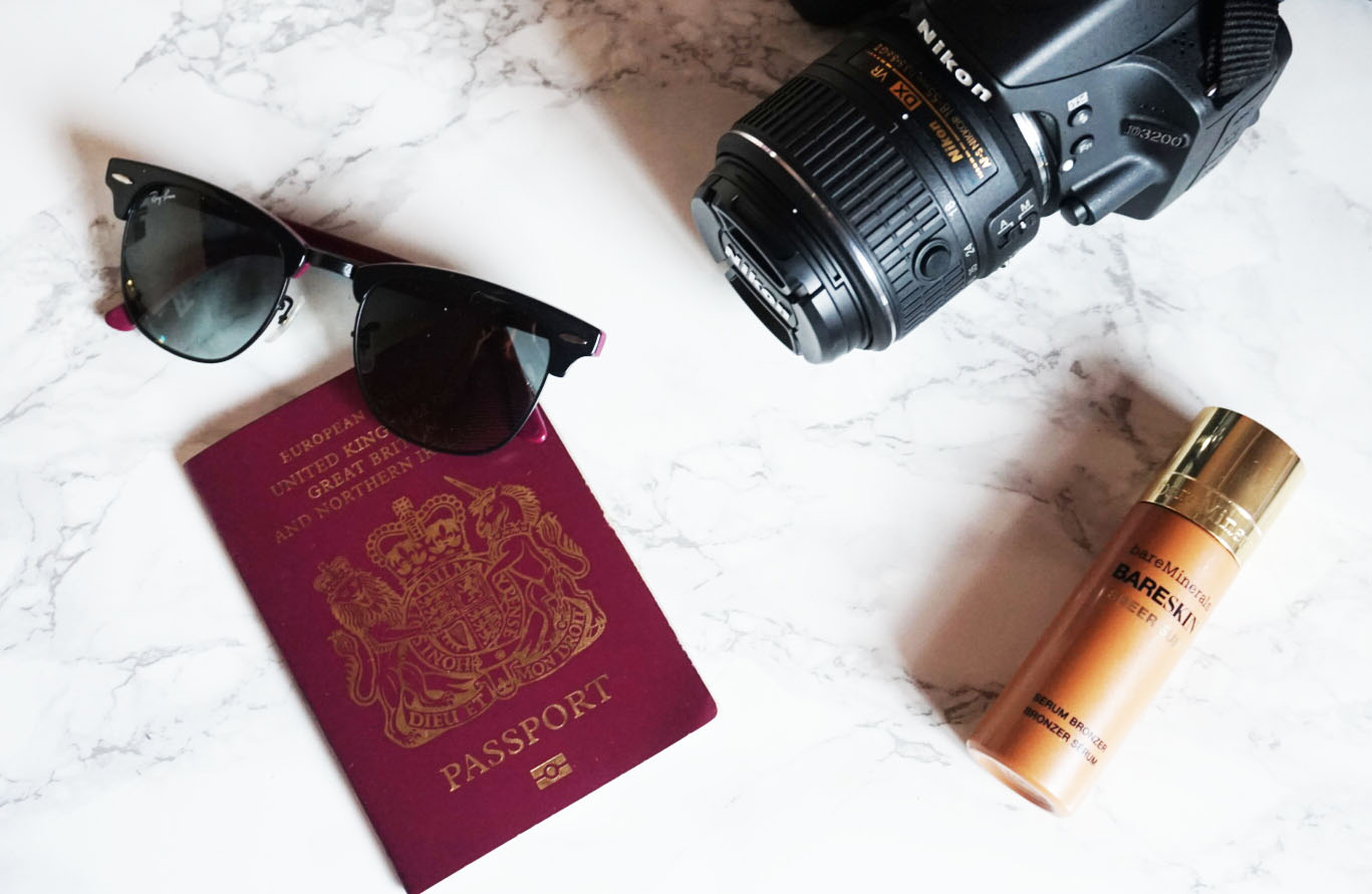 Wanderlust, Travel, Passport, Nikon, Camera, RayBan Clubmasters