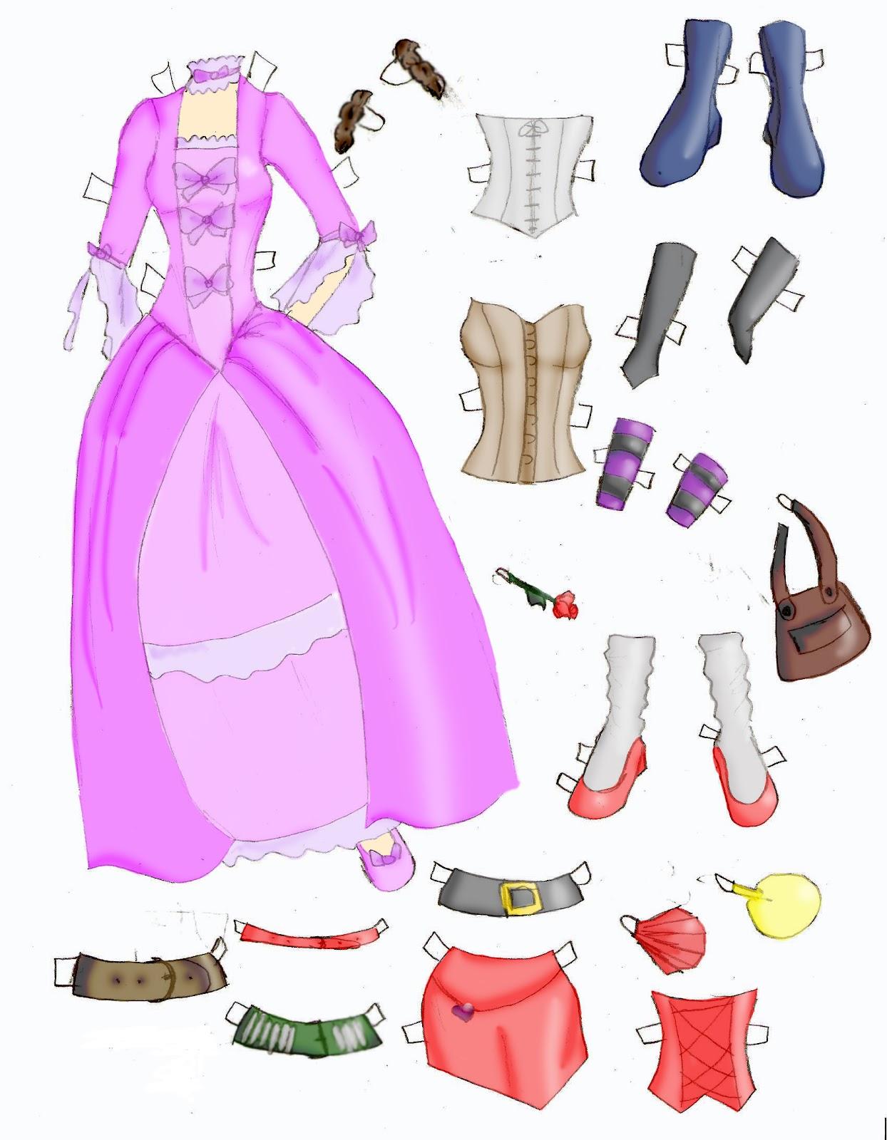 Miss Missy Paper Dolls: March 2012