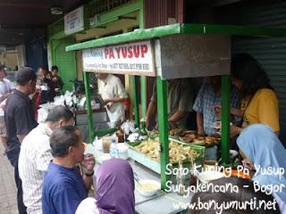 Kuliner Bogor - Jl Suryakencana, Pusat Kuliner Bogor