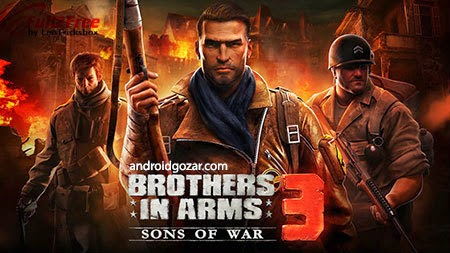 Android : Brothers in Arms 3 with Data