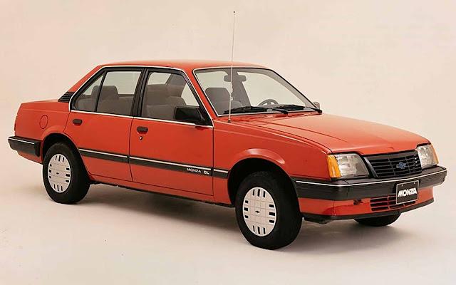Chevrolet Monza 1985 Fase II