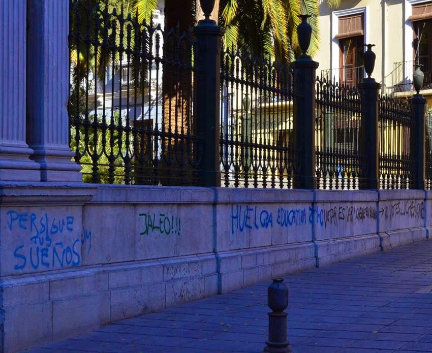 Graffiti in Granada, Andalucia, Spain