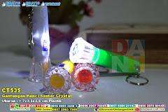 Gantungan Kunci Senter Crystal