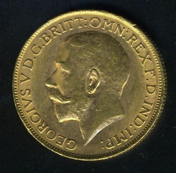 Australia Gold Sovereign Coin 1914 P Perth World