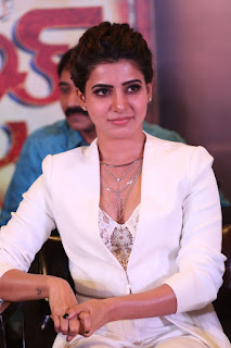 OMG Samantha Ruth Prabhi Wearng Deep Neck Transparent inner Lovely Cleavages HOT HOT