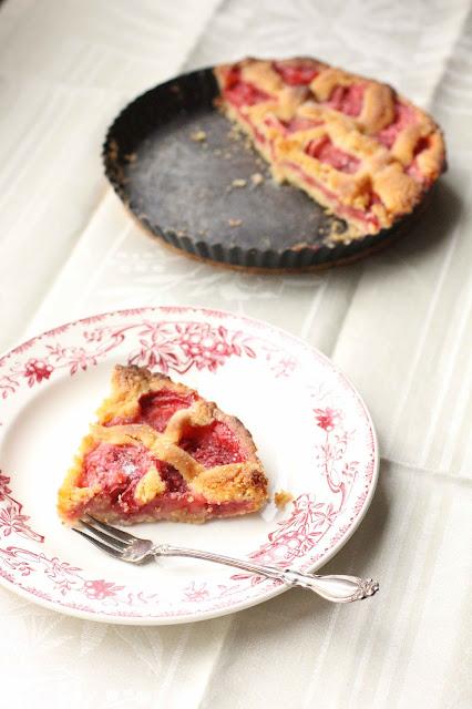 tarte finlandaise aux fraises