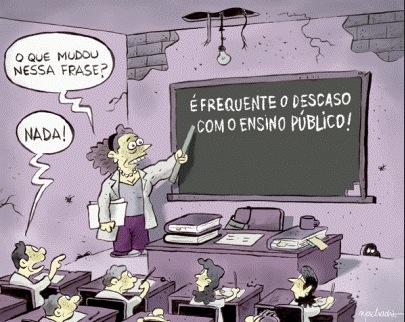 Exijam salas de aula não celas