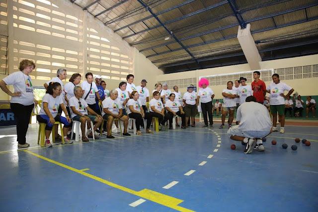 Jogos Solidários da Pessoa Idosa em Recife