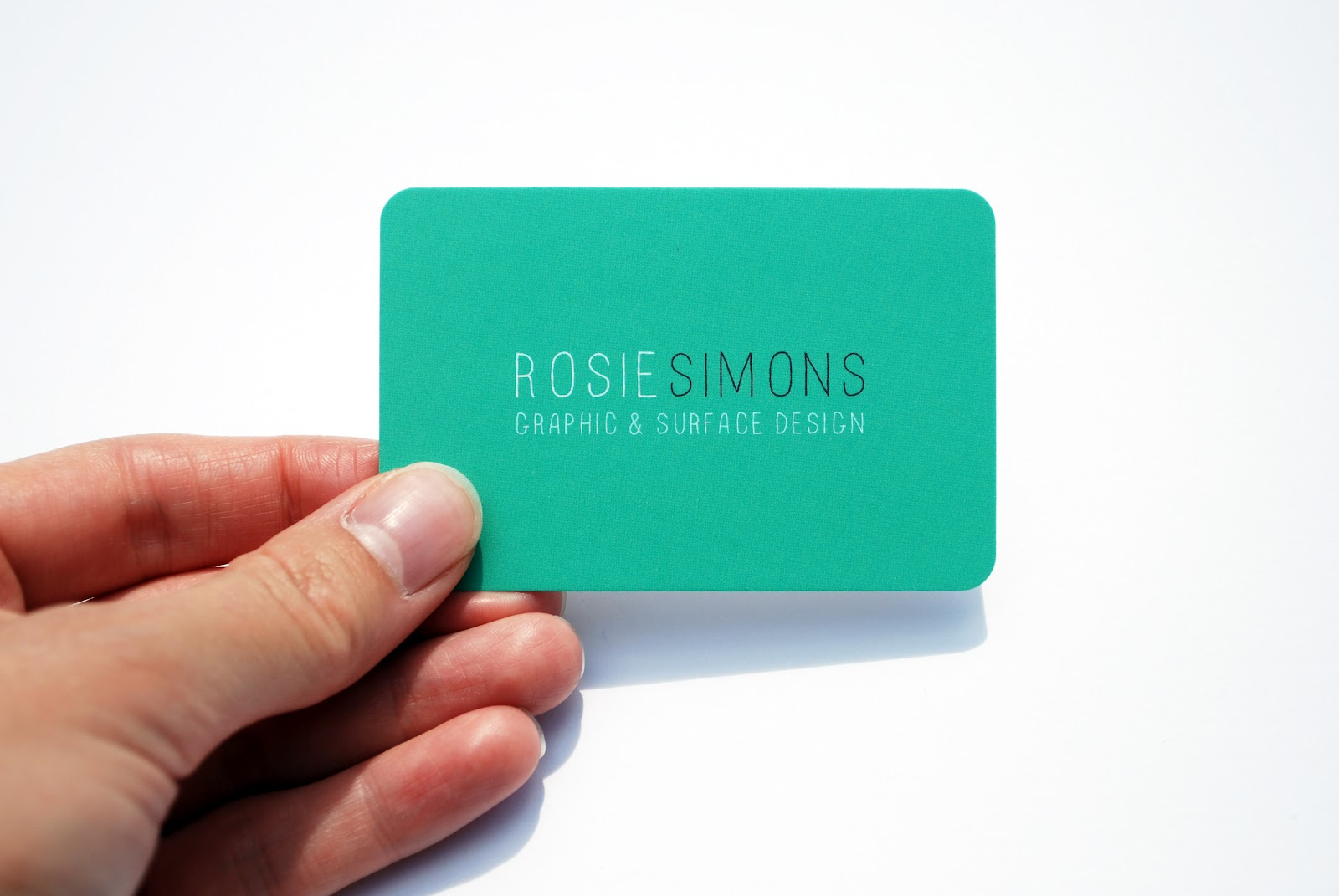 Rounded Corner Business Card Template Images - Templates Example ...