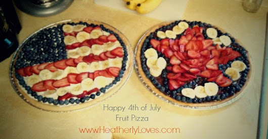 Happy 4th of July! Fruit Pizza