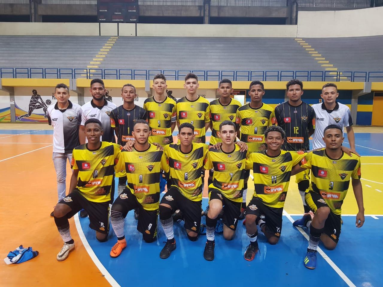 SBR FC  duas vitórias e um empate na primeira fase do maranhense de futsal  2018 d5b5872e3277b