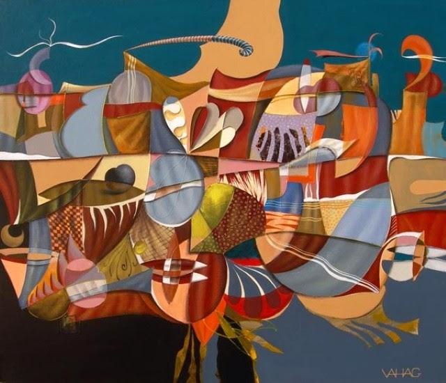 Армянский художник. Vahagn H