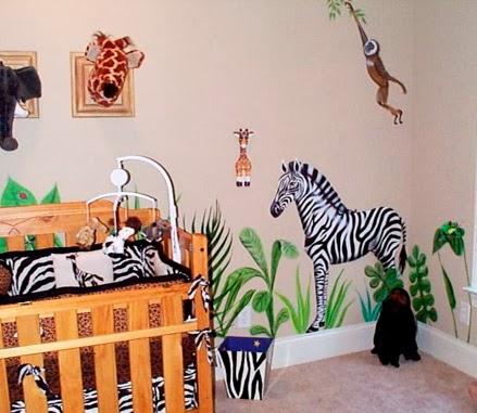 Decoración Safari Bebé Cuarto Imagui