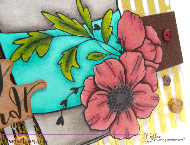 Dana Warren - Kraft Paper Stamps - Gracielle Designs
