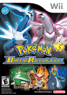wii Pokemon Battle Revolution