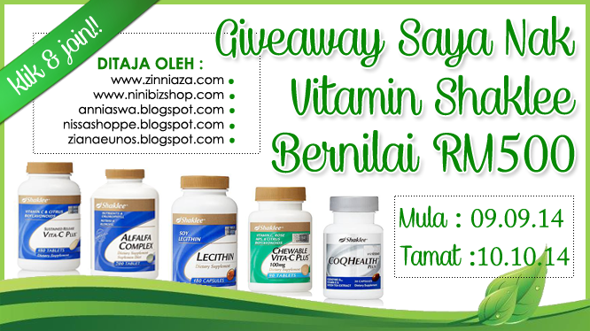 http://www.zinniaza.com/2014/09/giveaway-saya-nak-vitamin-shaklee-rm500.html