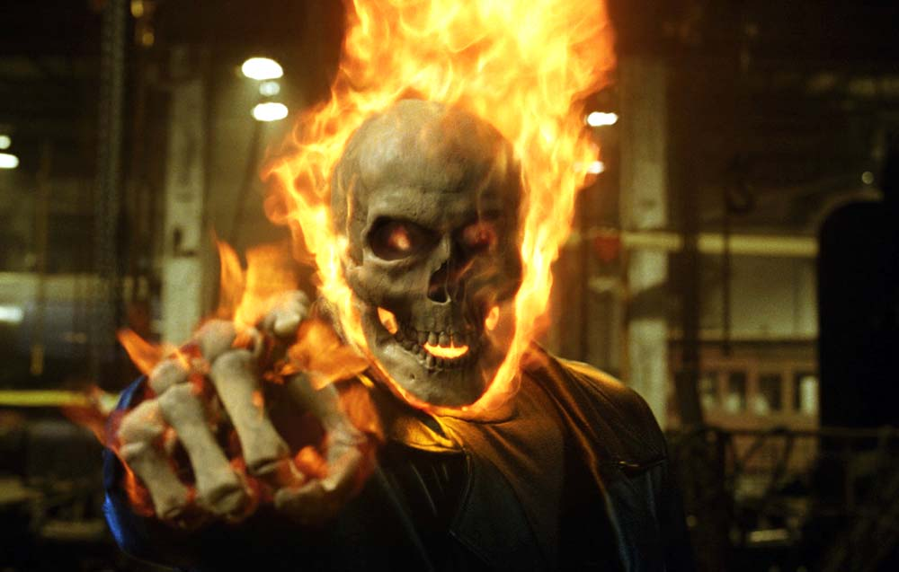 NATURALISTIC! UNCANNY! MARVELOUS!: GHOST RIDER (2007), GHOST