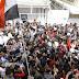 Pueblo sirio repudia en las calles de Damasco la agresión estadounidense