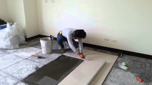 floor tiling in Milton Keynes
