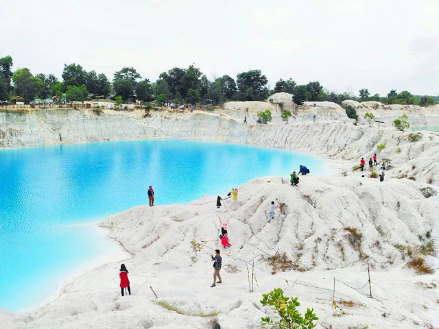 Camoi Aek Biru, Destinasi Wisata Hits Terbaru di Pulau Bangka