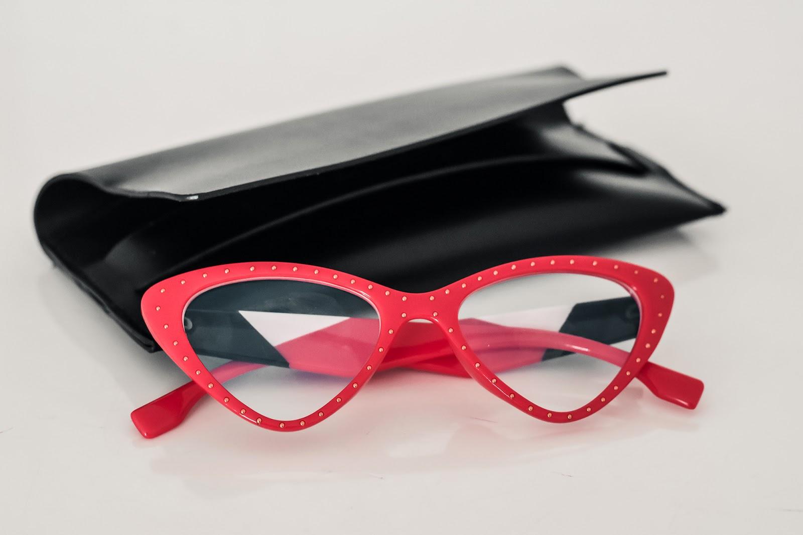 occhiali a gatta