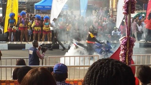 Calabar Carnival: 5000 Power Bikes, 300 Vintage Cars Show Thrill Revelers
