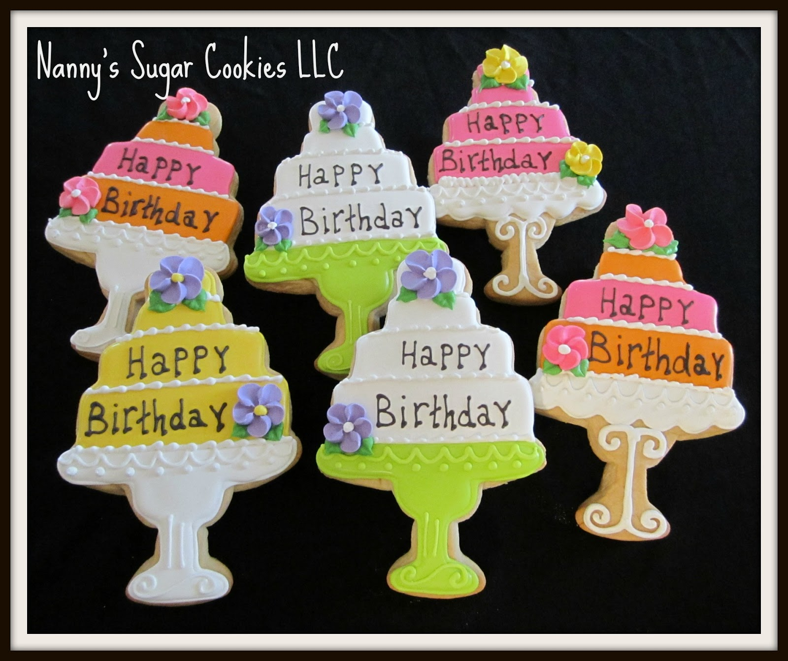 Nanny's Sugar Cookies LLC: Happy Birthday To You