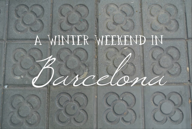 A winter weekend in Barcelona with kids