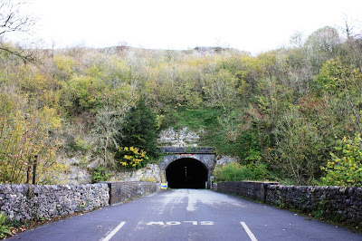 Photo showing the entrance to one of the tunnels