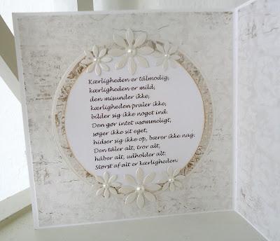 bryllupskort citat Kort og andet godt: oktober 2016 bryllupskort citat
