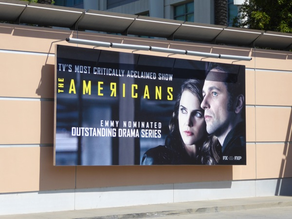 The Americans 2016 Emmy nomination billboard