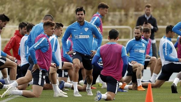 Málaga, nuevo entrenamiento bajo la supervisión de Víctor Sánchez