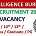 IB में 5 हजार सुरक्षा सहायक, गार्ड, कार्यकारी, के पदों पर निकली भर्ती योग्यता दसवी पास