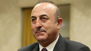 """Mevlut Cavusoglu the Foreign Minister of Turkey has called Benjamin Netanyahu """"a cold-blooded killer of modern times"""", in a Tweet on earlier today."""