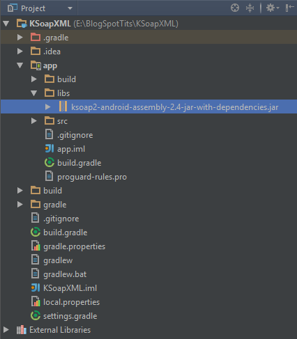 Android Development with Android Studio Tutorial: Consuming