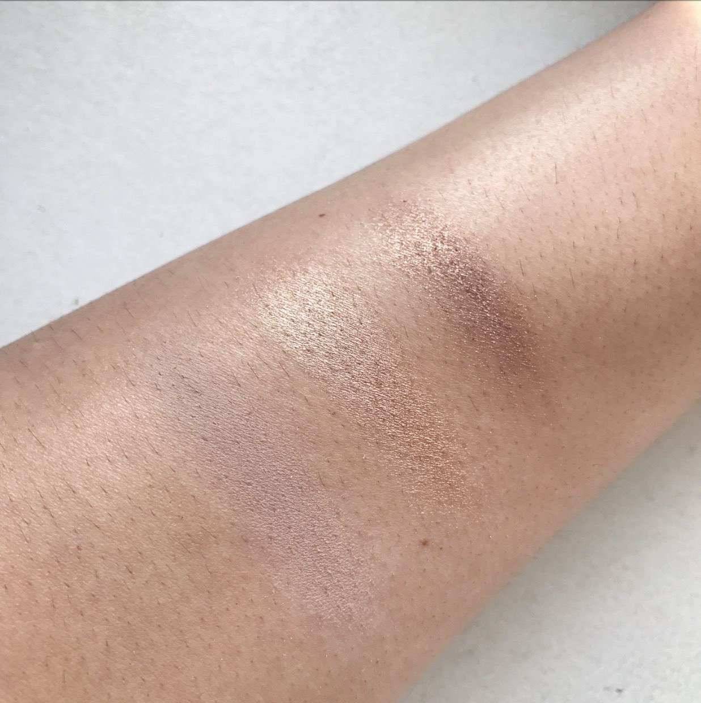MAC Amber Times Nine eyeshadow palette swatches