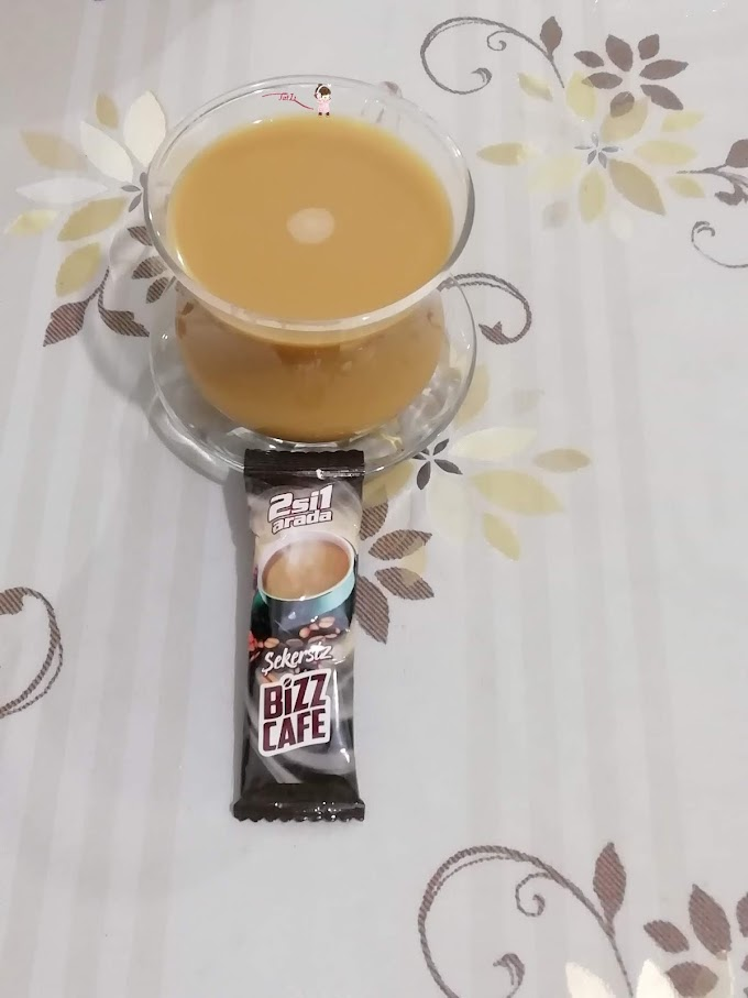 2si 1 arada Şekersiz BizzCafe Kahve Deneyimi