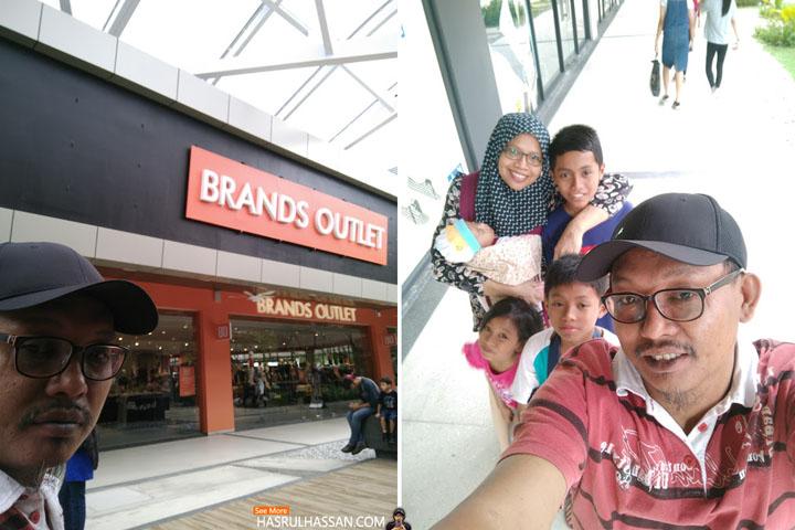 Pengalaman Pertama Shopping di Design Village Penang