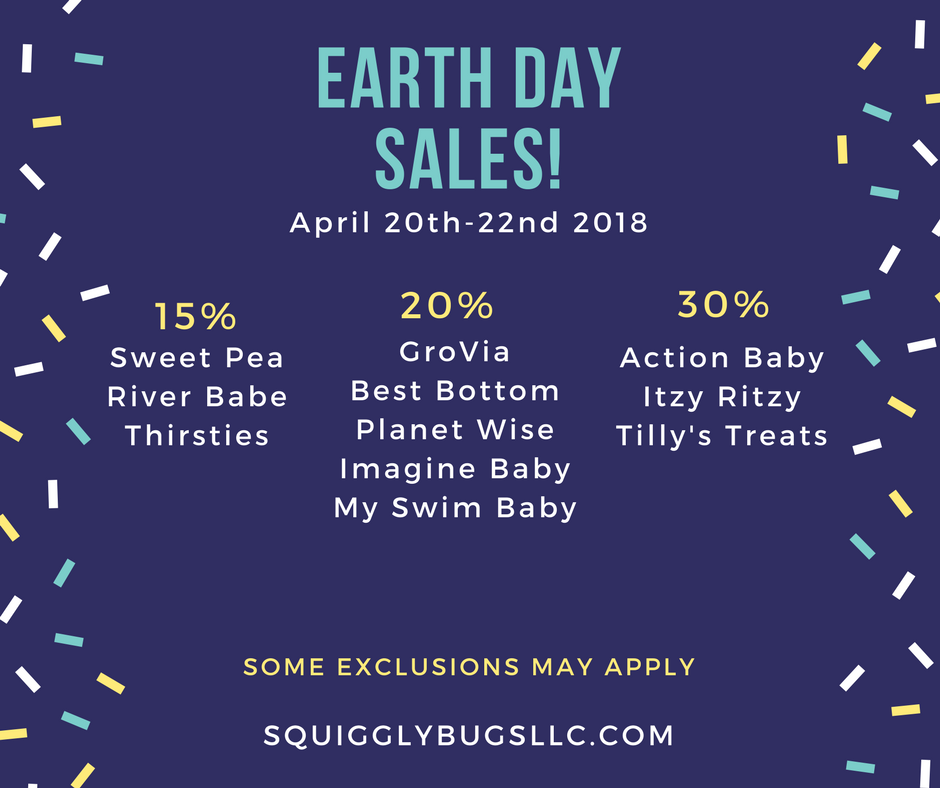 0e1cf8822be2 Earth Day Sales 2018 - Fluff Life Family
