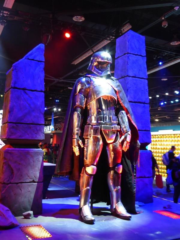 Star Wars Force Awakens Captain Phasma costume D23 Expo