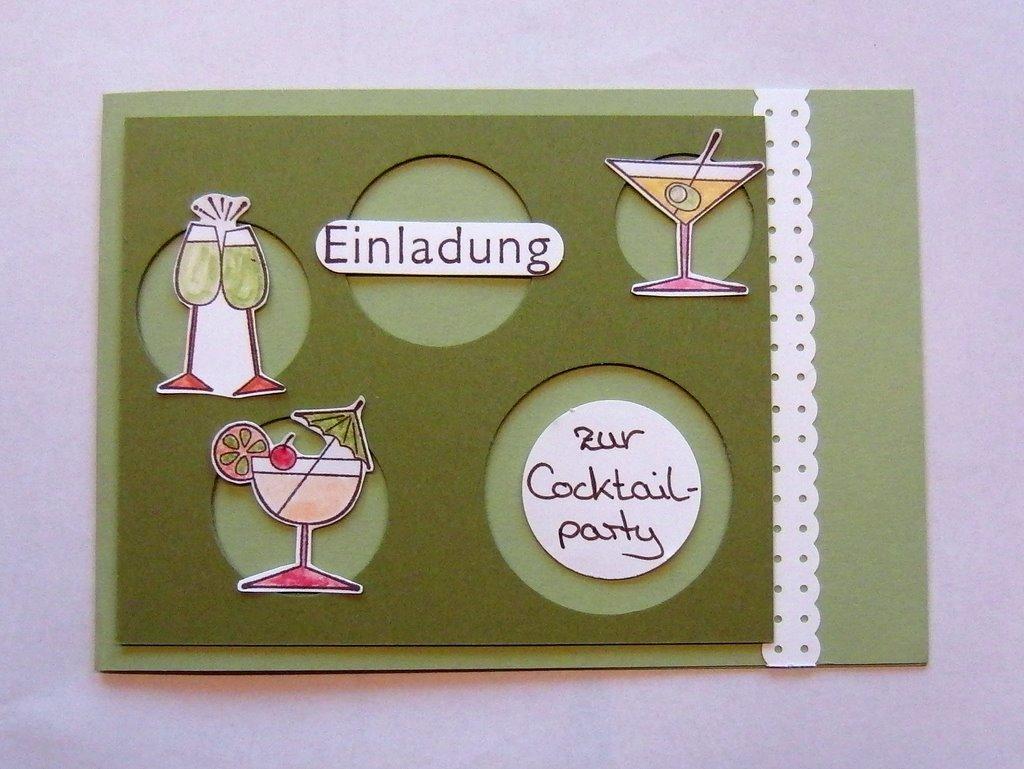 Eris Kreativwerkstatt Einladungskarten Für Den Nächsten