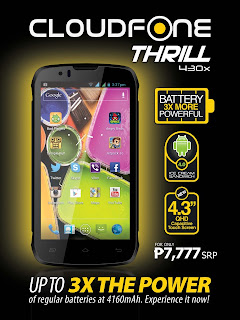Cloudfone Thrill 430x