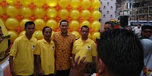 Partai Berkarya Buka Peluang Kerja Kaum Difabel di GORO