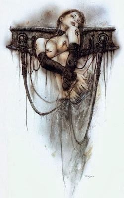 Mujeres crucificadas Crucified women luis royo