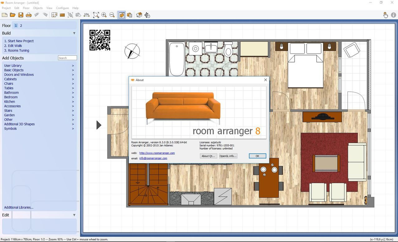 room arranger gratis