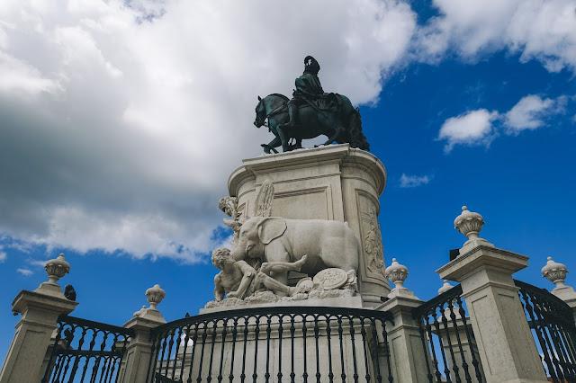 ドン・ジョゼ1世の騎馬像(Estátua equestre de D. José I)