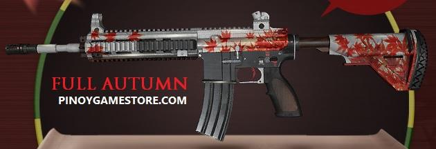 Full Autumn - M416 - PUBG M4 skin ~ Pinoy Game Store - Online Gaming