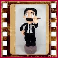 Groucho Marx amigurumi